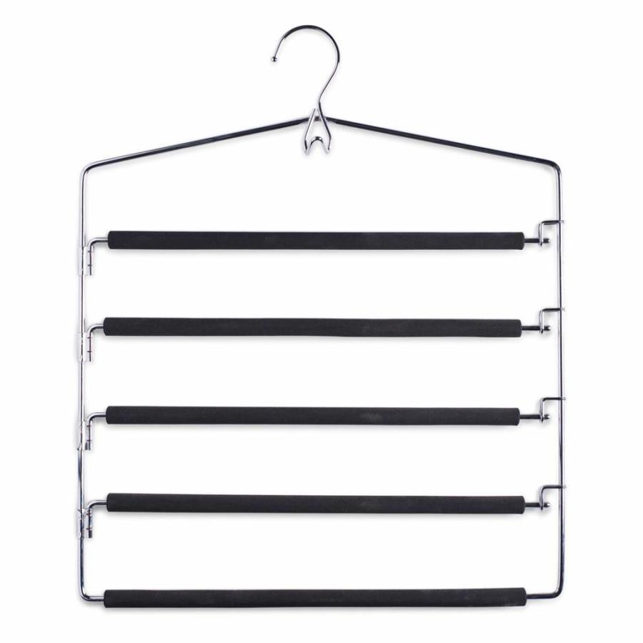 Zeller Present Metalen broekhanger voor 5 broeken