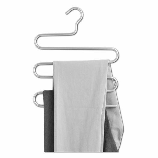 Broekhanger aluminium 5 broeken