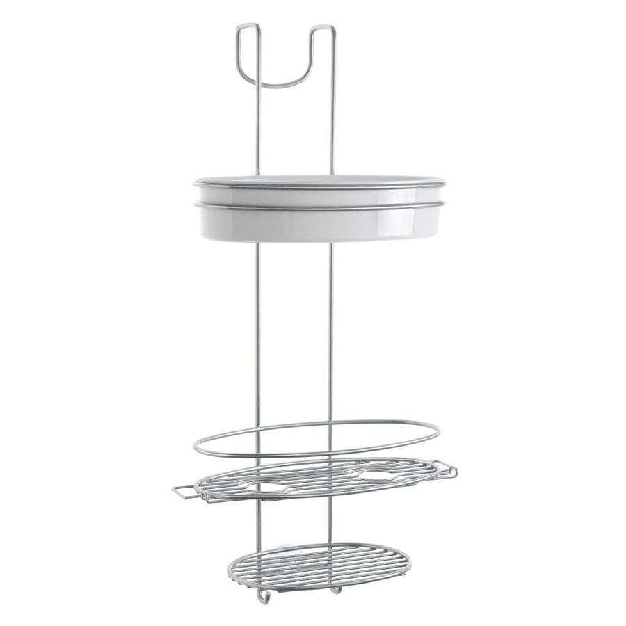 Metaltex | Tomado Doucherekje Orbit met 3 etages en haak
