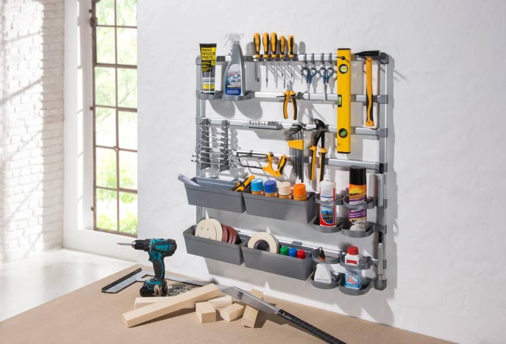 Opbergrekken Voor Garage.Opbergspecialist Wand Opbergrek Voor Garage En Hobbyruimte
