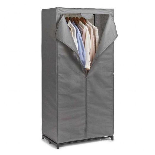 Stoffen kledingkast met hanggedeelte