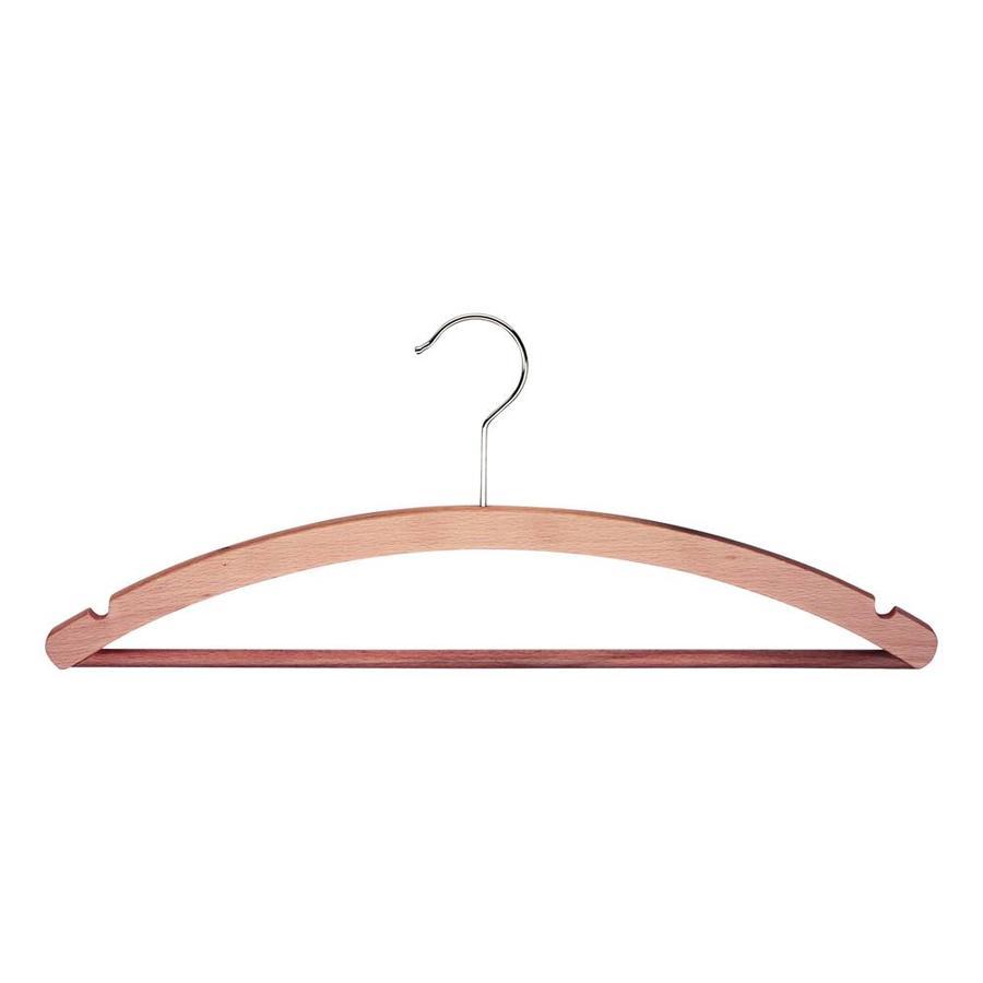 MAWA Houten kledinghanger met broeklat STANDARD