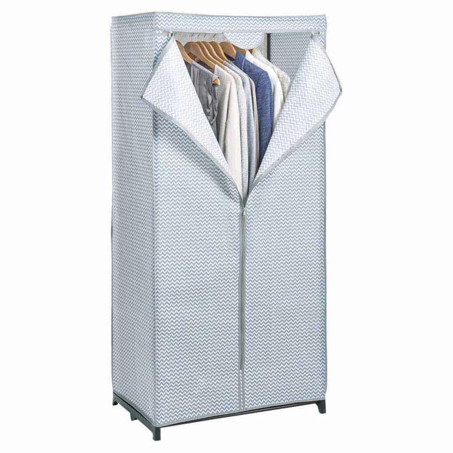 Zeller Present Stoffen kledingkast zigzag met hanggedeelte