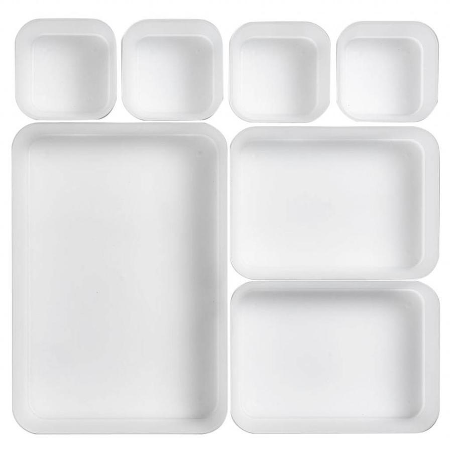 Zeller Present Lade indeling bakjes (set van 7)