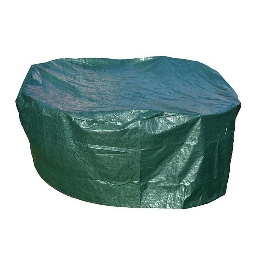 Videx Groene beschermhoes voor ronde tuintafel