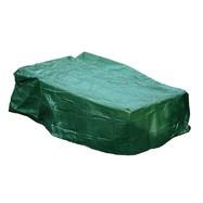 Beschermhoes tuintafel groen