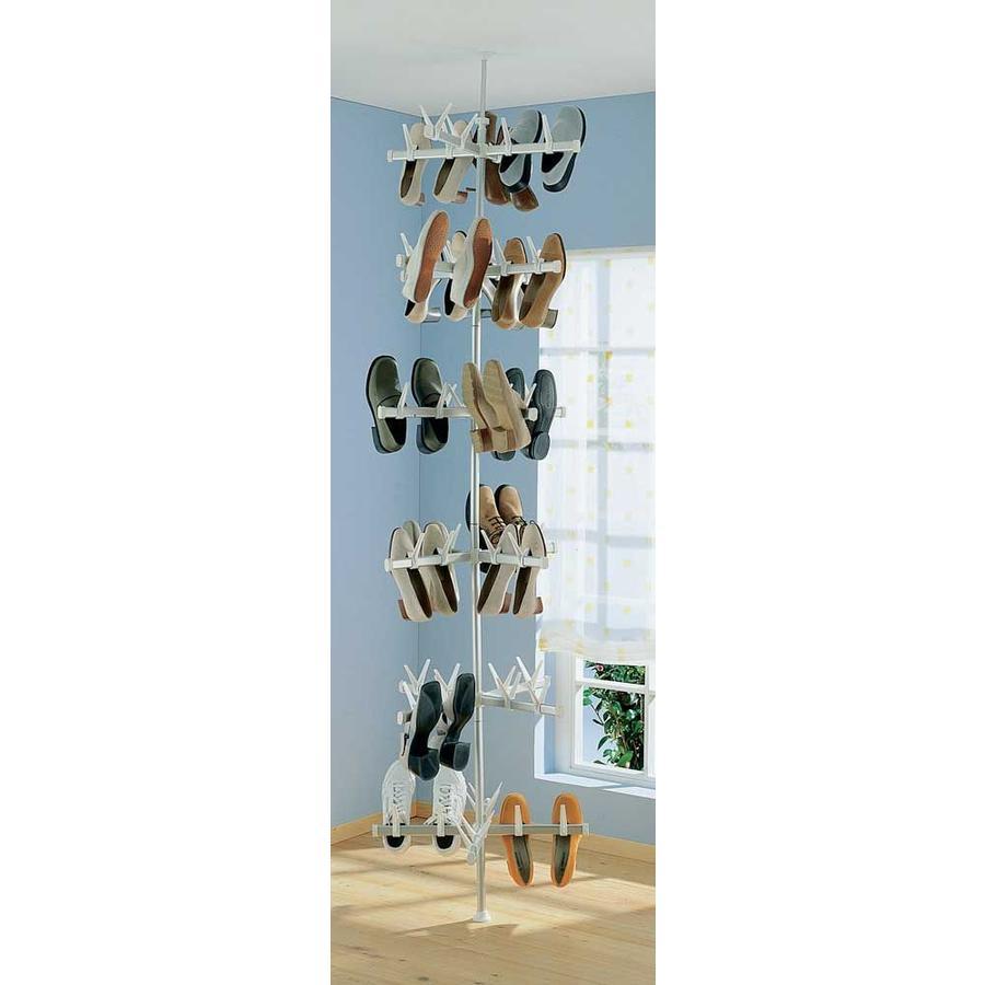 RUCO Schoenenrek carrousel voor 24 paar schoenen