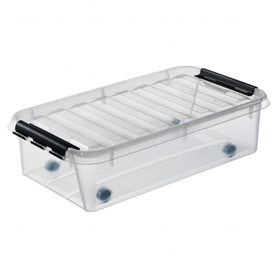 SmartStore Opbergbox Classic 35 (72 x 40 x 19 cm) 31 liter met wieltjes en deksel
