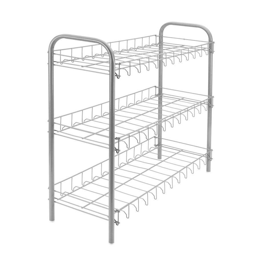 Metaltex | Tomado Schoenenrek metaal met 3 etages