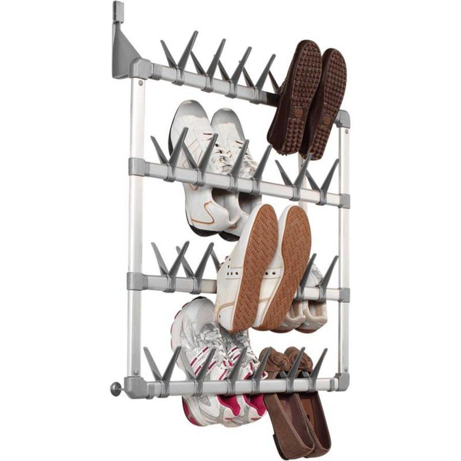 Schoenenkast Voor 24 Paar Schoenen.Opbergspecialist Schoenenrek Deur 24 Paar