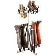 Schoenenrek en laarzenrek carrousel