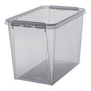 Clipbox Classic 65 transparant grijs (61 liter)
