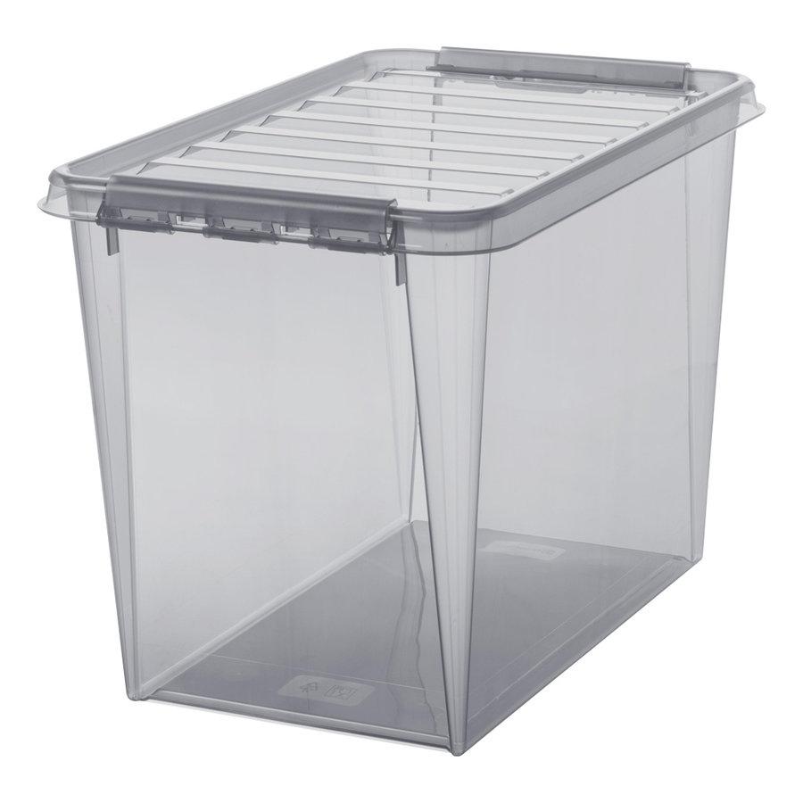 SmartStore Clipbox Classic 65 transparant grijs (61 liter)