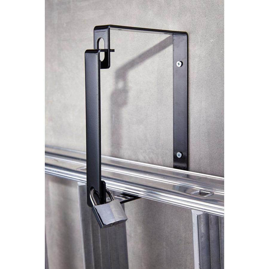 MOTTEZ Anti diefstal wandbeugels (set van 2) voor ladders, trappen enz.