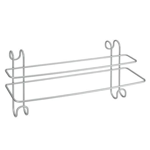 Handdoekrek dubbel voor badwand en radiator