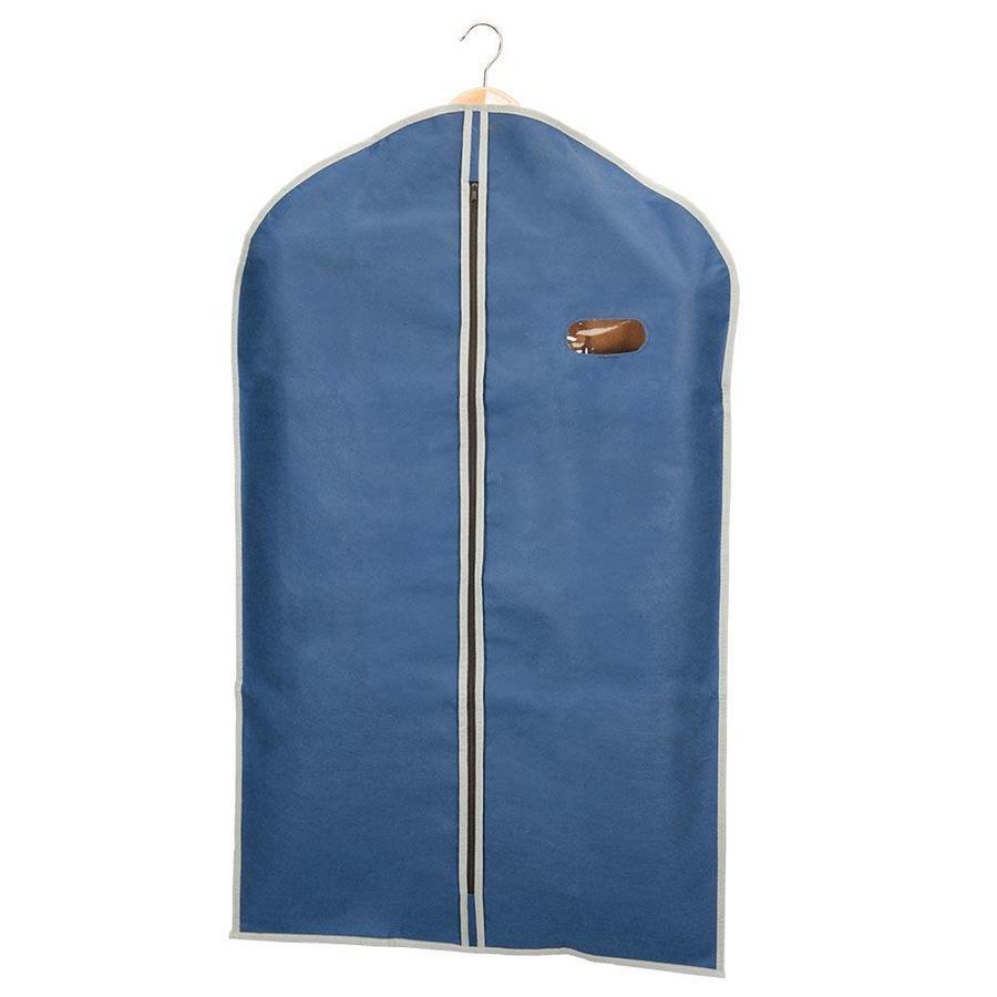Metaltex   Tomado Kledinghoes marineblauw met kijkvenster 60 x 100