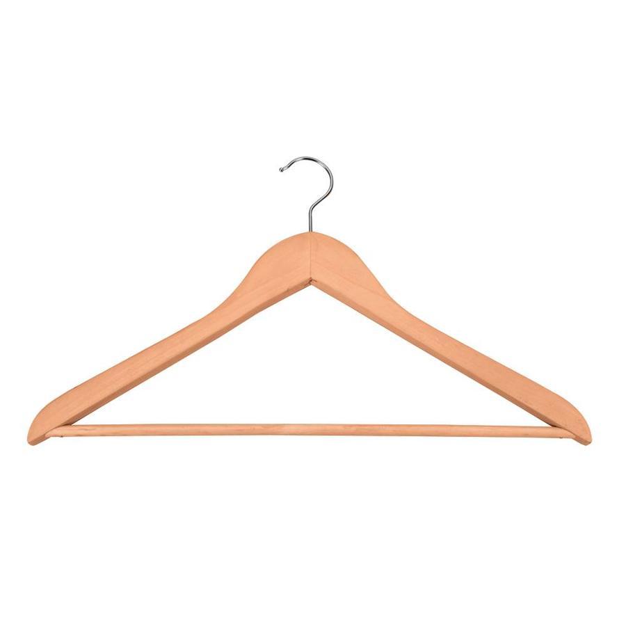 Metaltex | Tomado Houten kledinghangers (5 stuks) met broeklat