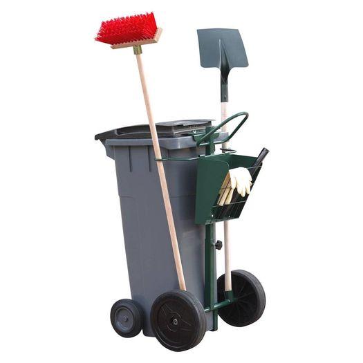 Afvalcontainer werktrolley