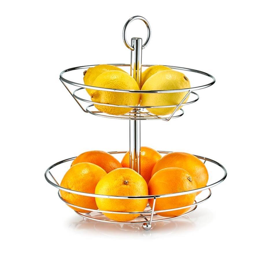 Zeller Present Fruit etagère met 2 etages