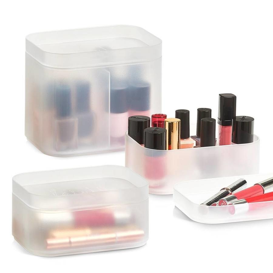 Zeller Present Make-up boxen set van 3