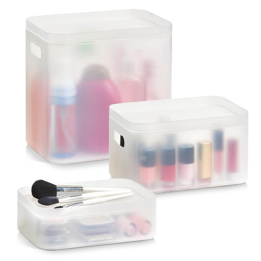 Zeller Present Make-up boxen set van 3 XL