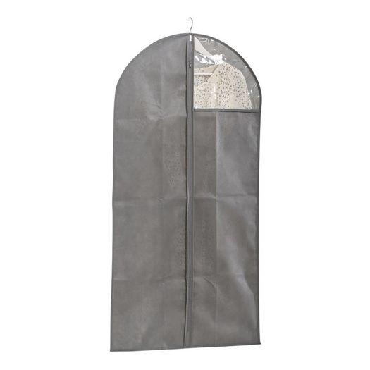 Kledinghoes grijs met kijkvenster 60 x 120