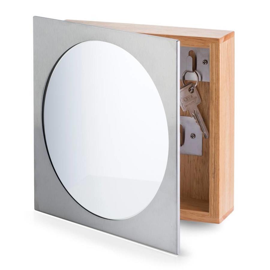 Zeller Present Sleutelkastje met spiegel