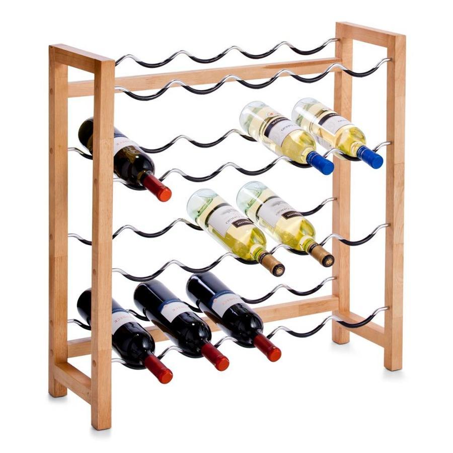 Zeller Present Wijnrek voor 20 flessen met antislip