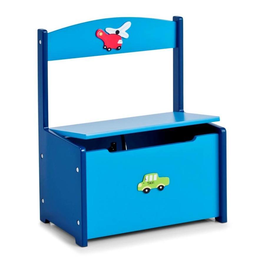 Zeller Present Kinderbankje met opbergruimte 'BOYS'