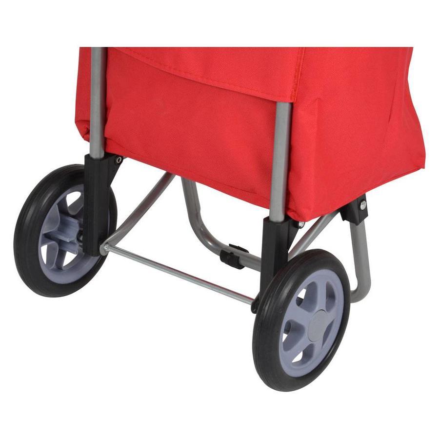 Metaltex | Tomado Boodschappentrolley DAPHNE 40 liter rood
