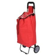 Boodschappentrolley DAPHNE 40 liter rood