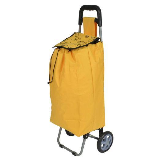 Boodschappentrolley DAPHNE 40 liter oranje