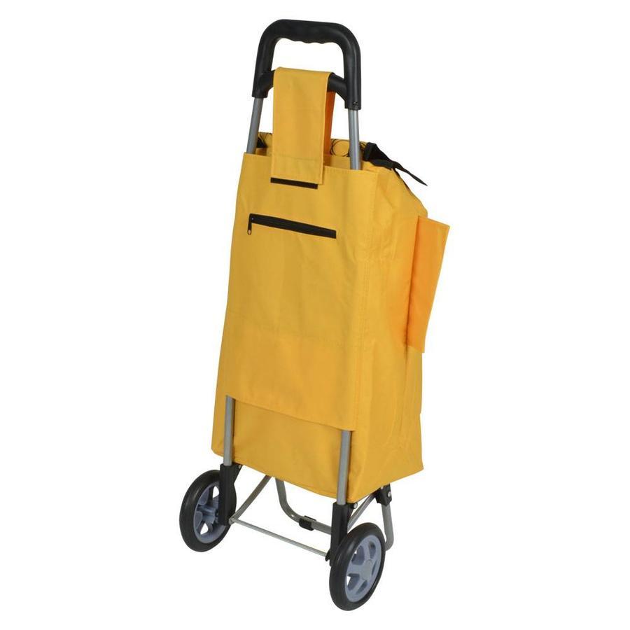 Metaltex | Tomado Boodschappentrolley DAPHNE 40 liter oranje