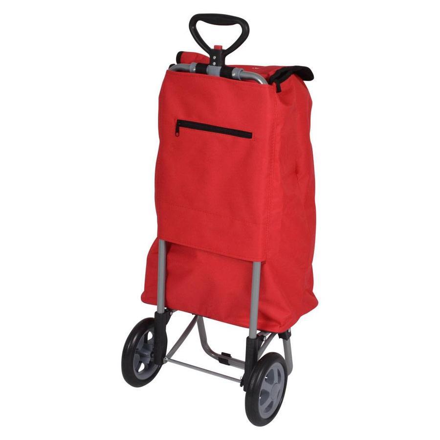 Metaltex | Tomado Boodschappentrolley TULIP 35 liter rood