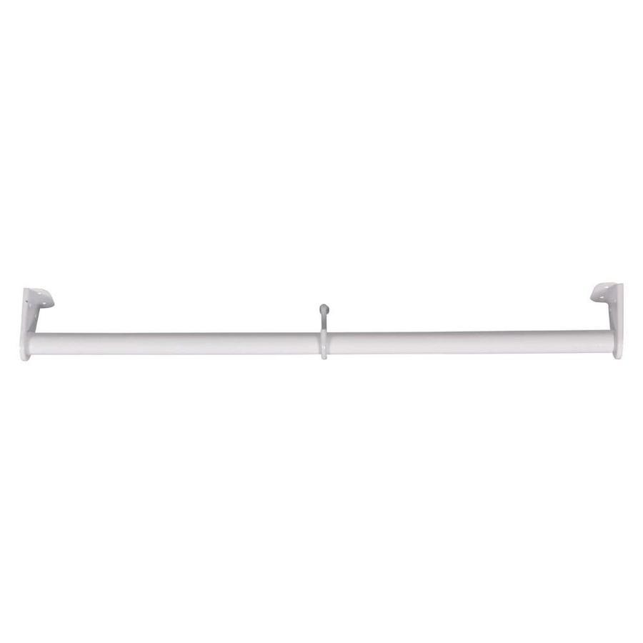 MOTTEZ Kledingroede uitschuifbaar van 68 tot 120 cm wit