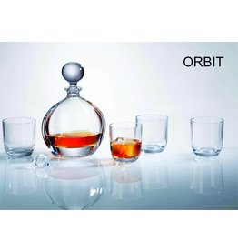 Crystalite Whisky set 7 delig