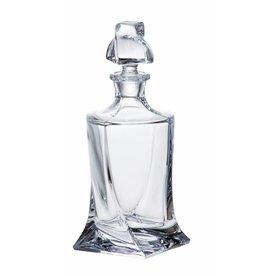 Crystalite Quadro likeur of whisky karaf 500ml