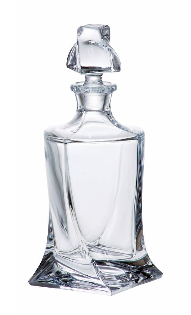 Crystalite Likeur of whisky karaf Quadro 500ml