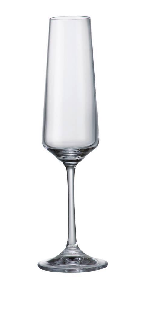 Crystalex Champagneglazen Naomi/Corvus 160ml