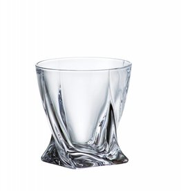 Crystalite Quadro whiskyglazen 340ml