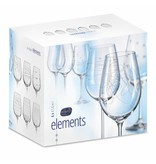 Crystalex Elements wijnglazen 450ml