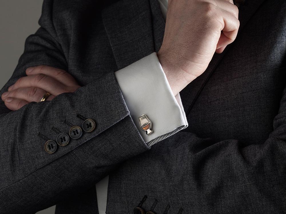 Glencairn overhemd manchetknopen set