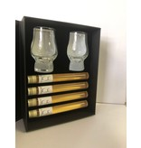 Kristalglas.nl The perfect Dram Box  met 4 buisjes