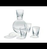 Kristalglas.nl Puur water set karaf 1+4