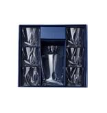 Crystalite Whisky set Quadro 7 delig