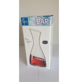 Crystalex Bar wijn of waterkaraf 1200ml Diagonaal