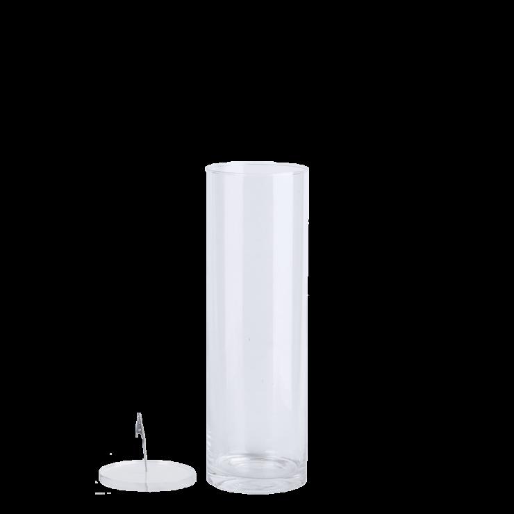 Esschert design Verzonken bloemvaas L 40cm hoog