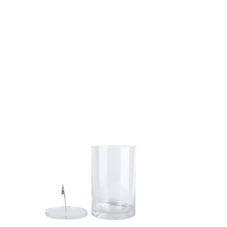 Esschert design Verzonkenbloemvaas  S 20cm hoog