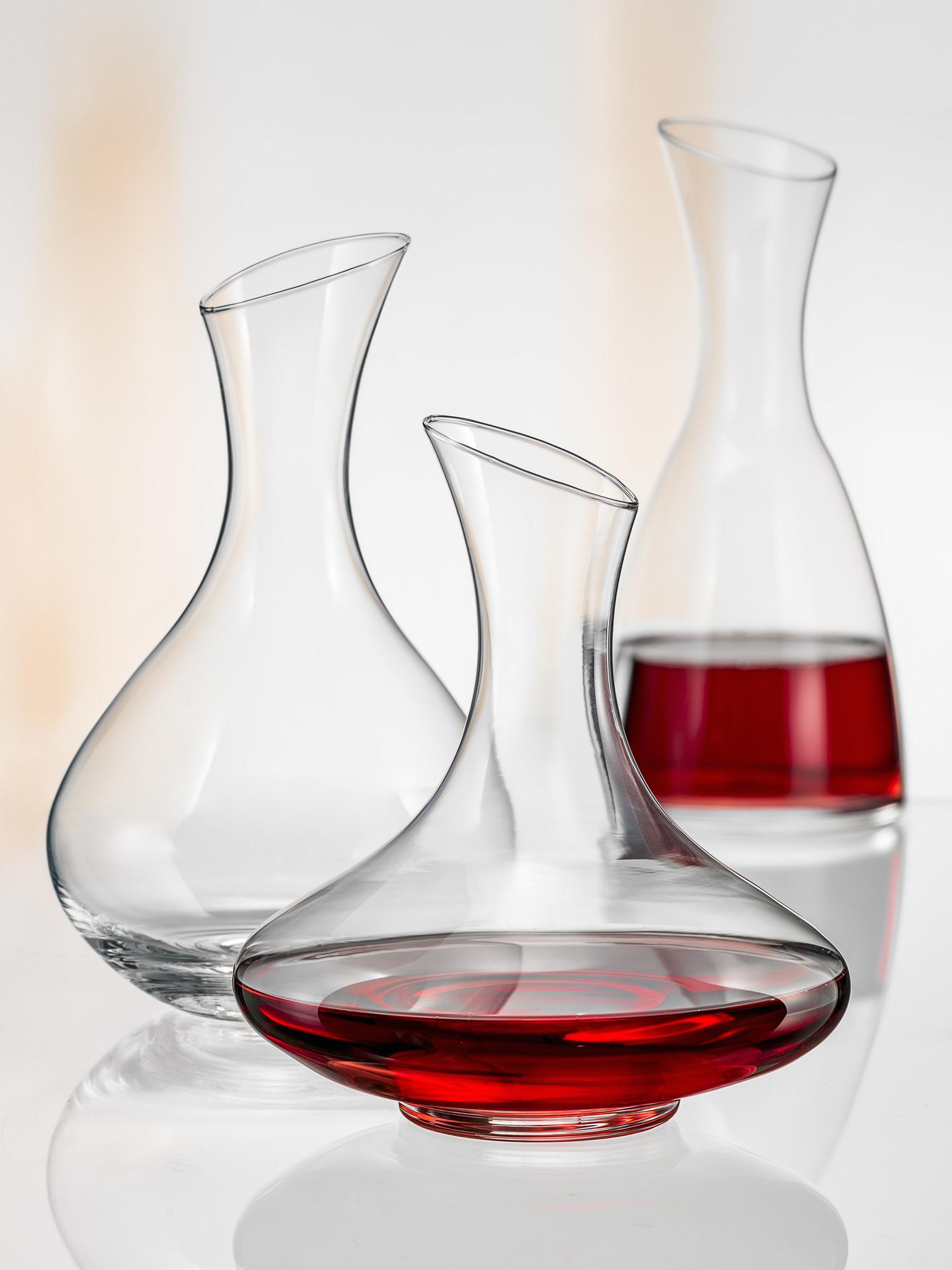 Crystalex Wijn/decanteer karaf Bar Diagonal 1500ml