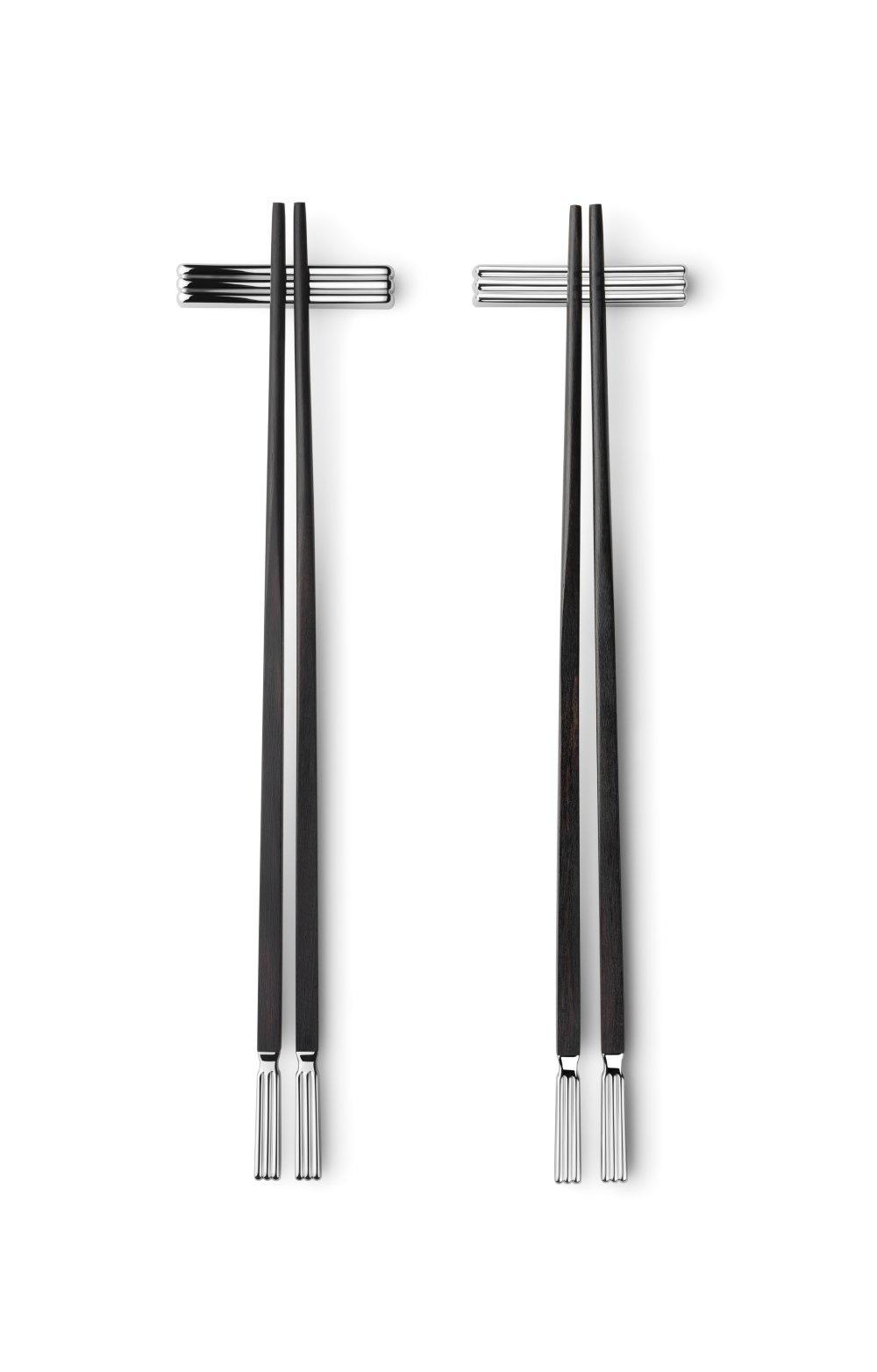 Georg Jensen Bernadotte Chopsticks Set van 2 Stuks